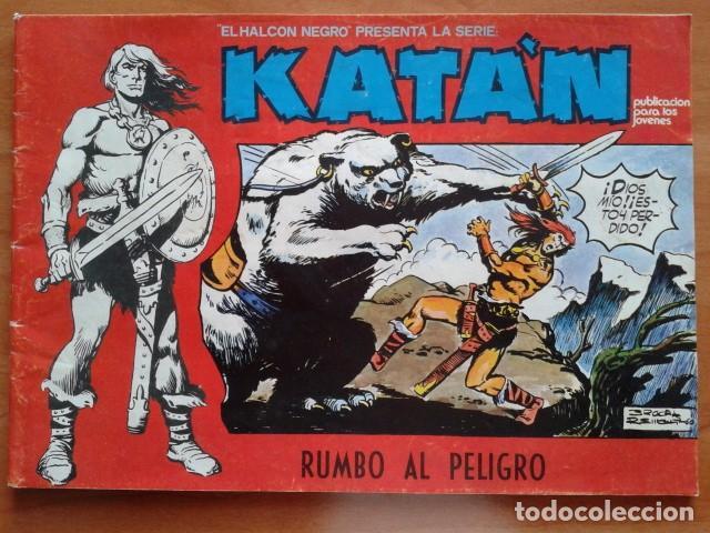 KATÁN : CINCO EJEMPLARES (1-2-3-5-7) (Tebeos y Comics - Ursus)