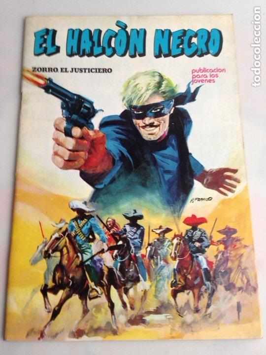 EL HALCON NEGRO Nº 1 - EDITA : URSUS EDICIONES (Tebeos y Comics - Ursus)