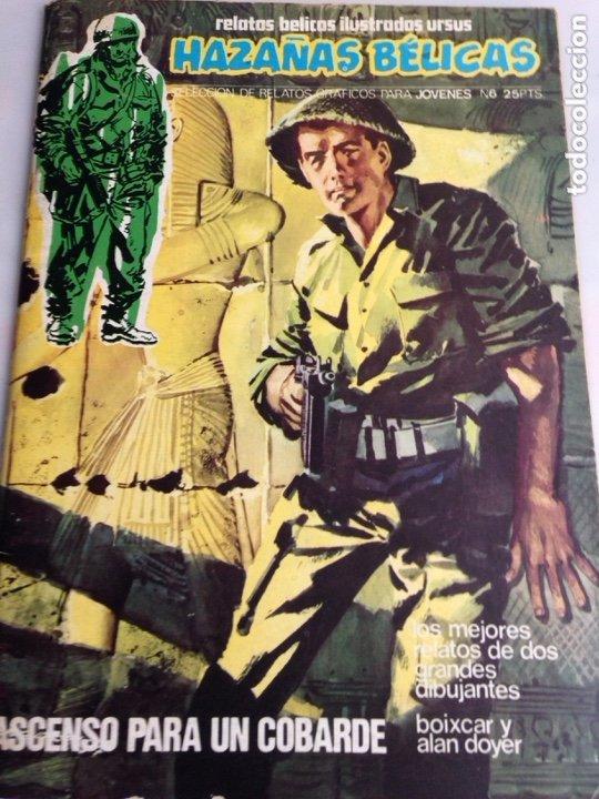 HAZAÑAS BELICAS Nº 6 , RELATOS BELICOS ILUSTRADOS URSUS (Tebeos y Comics - Ursus)