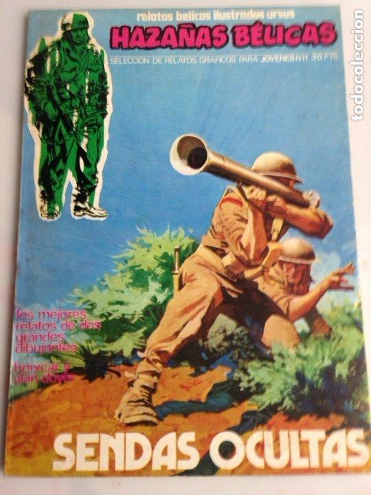 HAZAÑAS BELICAS Nº 11 , RELATOS BELICOS ILUSTRADOS URSUS (Tebeos y Comics - Ursus)