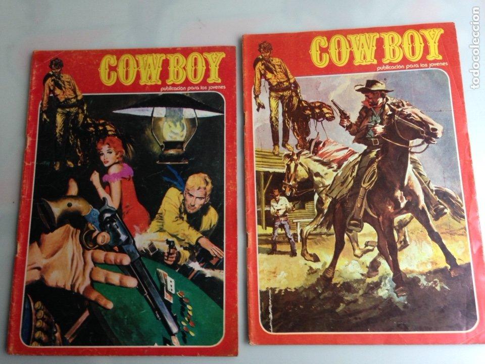 COWBOY Nº 10 Y 24 -EDITA : URSUS (Tebeos y Comics - Ursus)