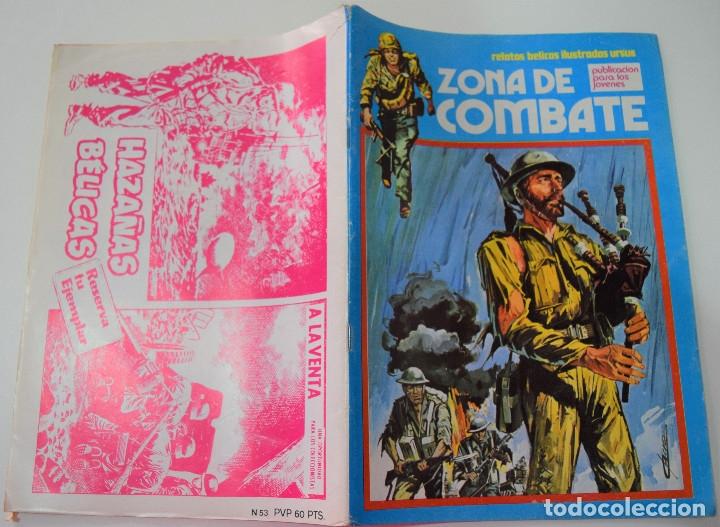 Cómics: ZONA DE COMBATE Nº 53 - RELATOS BELICOS ILUSTRADOS URSUS - Foto 2 - 176125530