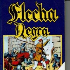 Cómics: FLECHA NEGRA EDITORIAL URSUS COMPLETA RETAPADA. Lote 176463844