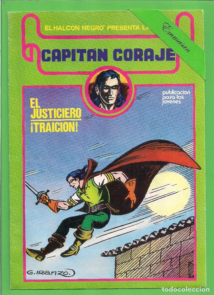 CAPITÁN CORAJE - COMPLETA DEL 1 AL 16 - EDICIONES URSUS - (1982) - REEDICIÓN - VER IMÁGENES. (Tebeos y Comics - Ursus)