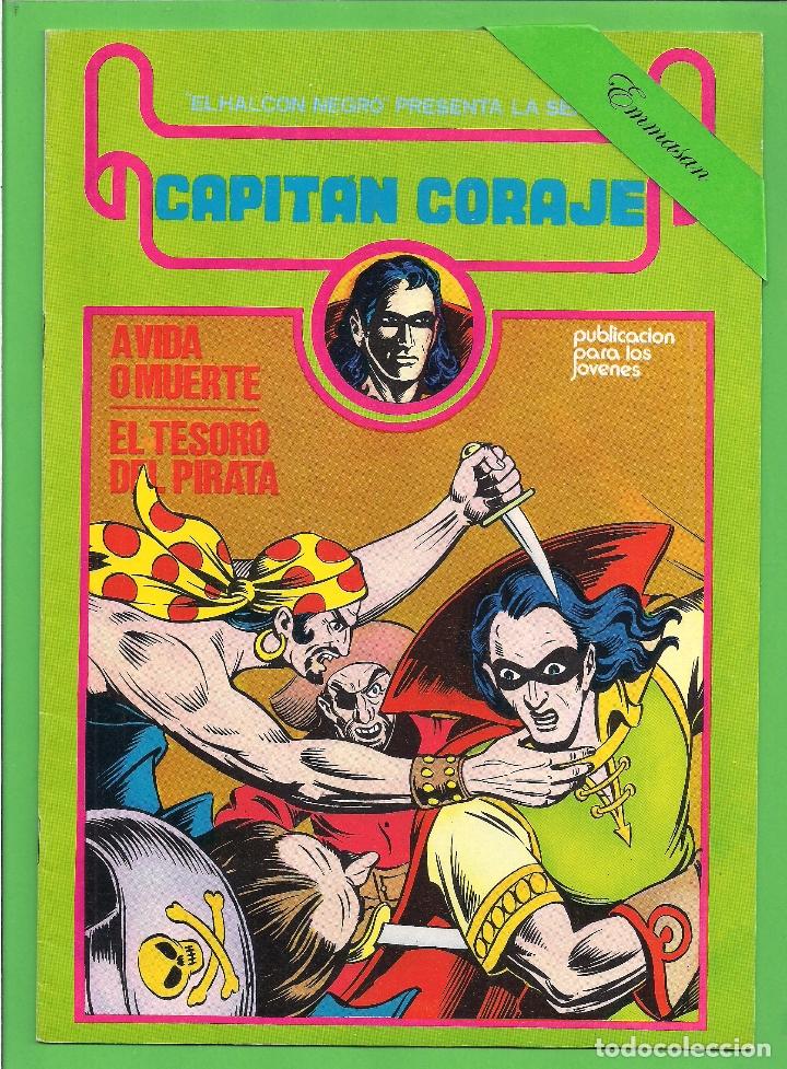 Cómics: CAPITÁN CORAJE - COMPLETA DEL 1 AL 16 - EDICIONES URSUS - (1982) - REEDICIÓN - VER IMÁGENES. - Foto 2 - 210806810