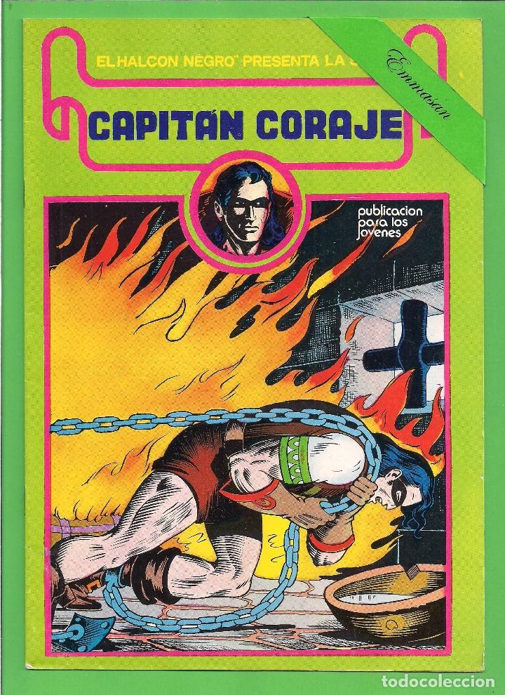 Cómics: CAPITÁN CORAJE - COMPLETA DEL 1 AL 16 - EDICIONES URSUS - (1982) - REEDICIÓN - VER IMÁGENES. - Foto 5 - 210806810
