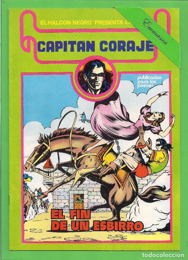 Cómics: CAPITÁN CORAJE - COMPLETA DEL 1 AL 16 - EDICIONES URSUS - (1982) - REEDICIÓN - VER IMÁGENES. - Foto 6 - 210806810
