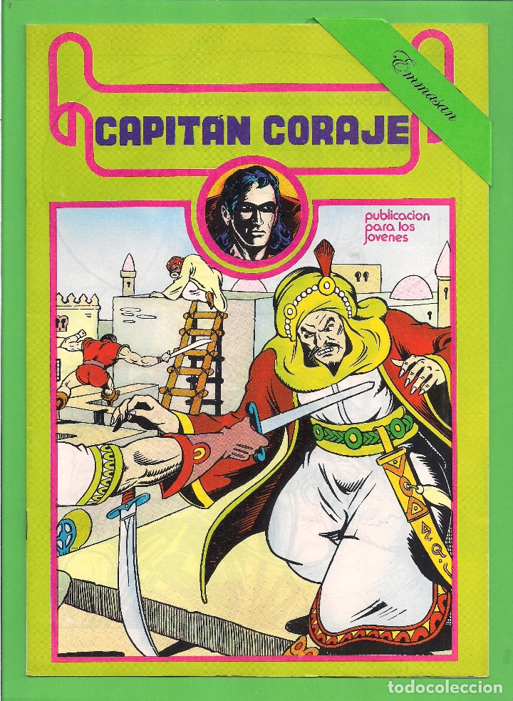 Cómics: CAPITÁN CORAJE - COMPLETA DEL 1 AL 16 - EDICIONES URSUS - (1982) - REEDICIÓN - VER IMÁGENES. - Foto 8 - 210806810