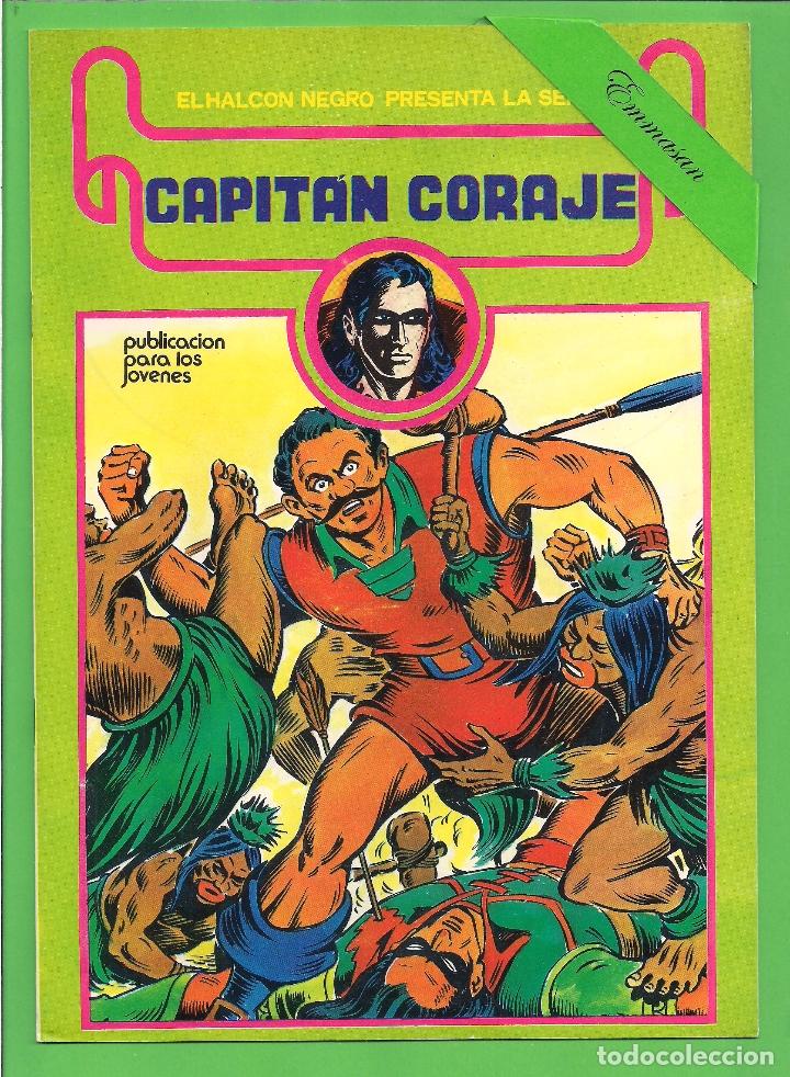 Cómics: CAPITÁN CORAJE - COMPLETA DEL 1 AL 16 - EDICIONES URSUS - (1982) - REEDICIÓN - VER IMÁGENES. - Foto 9 - 210806810