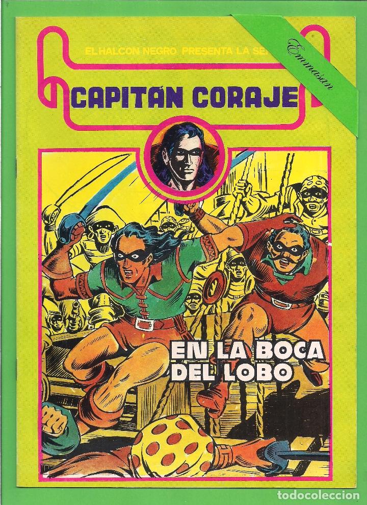 Cómics: CAPITÁN CORAJE - COMPLETA DEL 1 AL 16 - EDICIONES URSUS - (1982) - REEDICIÓN - VER IMÁGENES. - Foto 10 - 210806810
