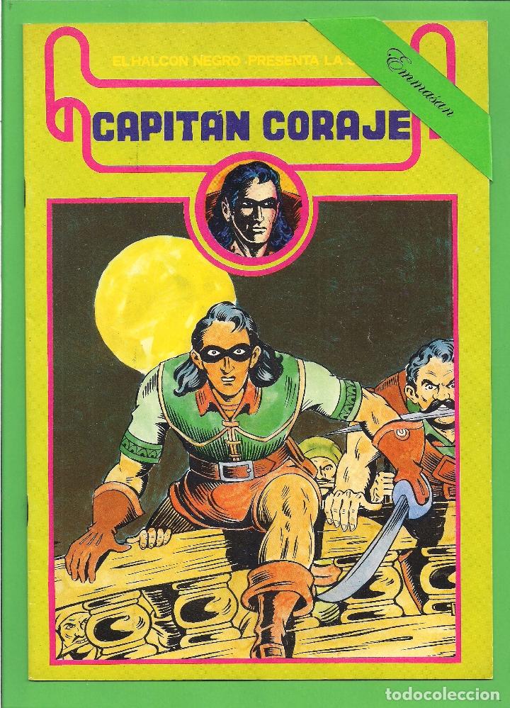 Cómics: CAPITÁN CORAJE - COMPLETA DEL 1 AL 16 - EDICIONES URSUS - (1982) - REEDICIÓN - VER IMÁGENES. - Foto 11 - 210806810