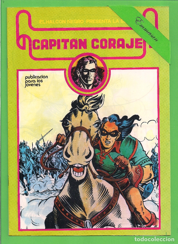 Cómics: CAPITÁN CORAJE - COMPLETA DEL 1 AL 16 - EDICIONES URSUS - (1982) - REEDICIÓN - VER IMÁGENES. - Foto 13 - 210806810