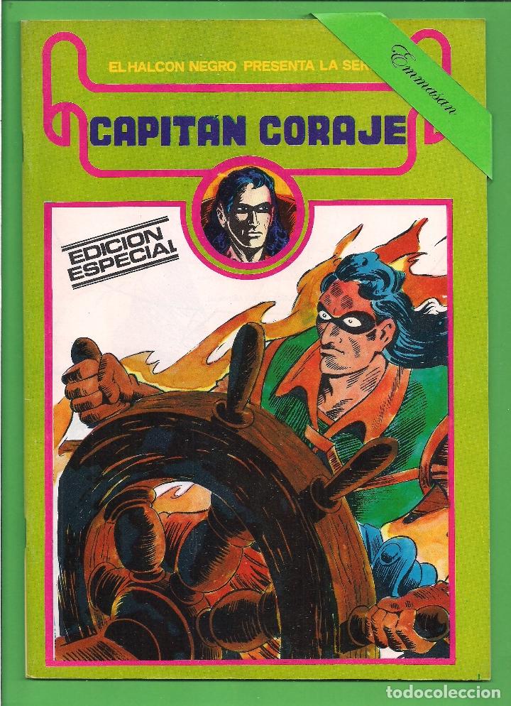 Cómics: CAPITÁN CORAJE - COMPLETA DEL 1 AL 16 - EDICIONES URSUS - (1982) - REEDICIÓN - VER IMÁGENES. - Foto 15 - 210806810