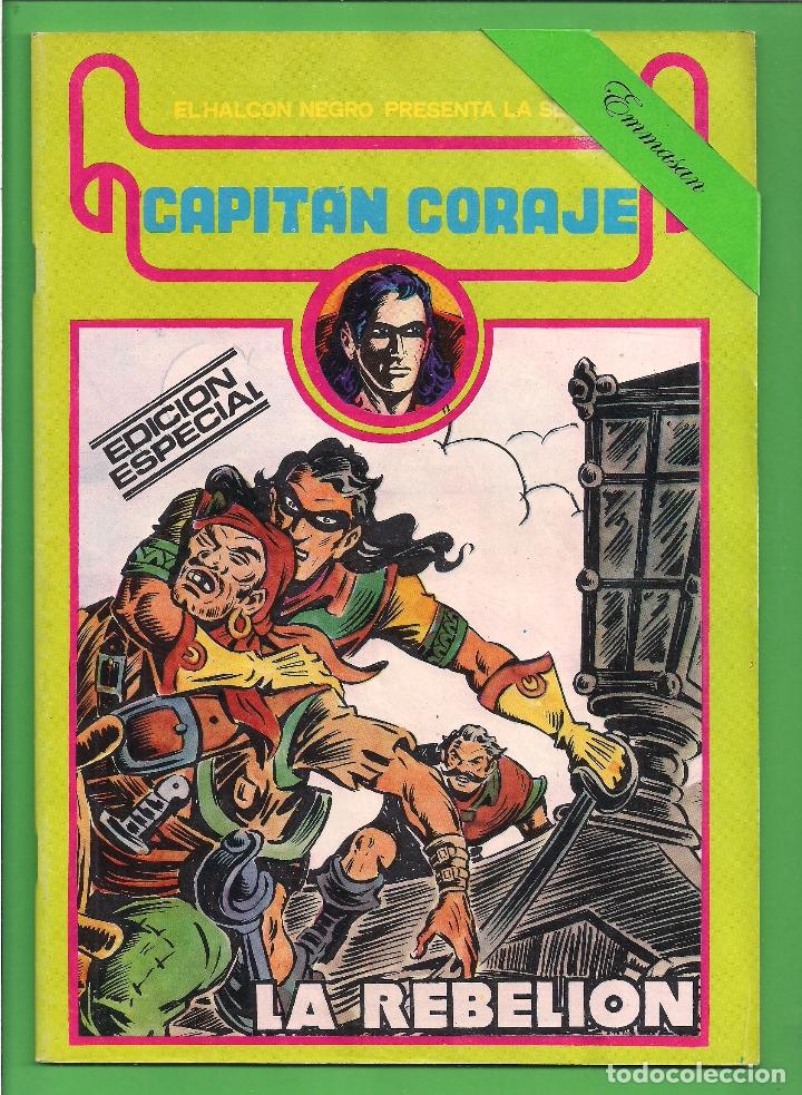 Cómics: CAPITÁN CORAJE - COMPLETA DEL 1 AL 16 - EDICIONES URSUS - (1982) - REEDICIÓN - VER IMÁGENES. - Foto 16 - 210806810