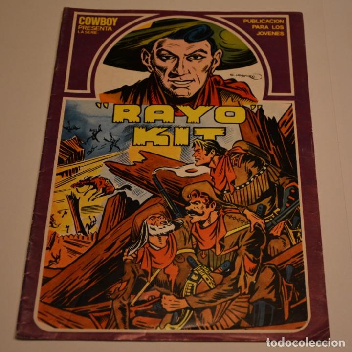 RAYO KIT Nº 9. LITERACOMIC. C2 (Tebeos y Comics - Ursus)