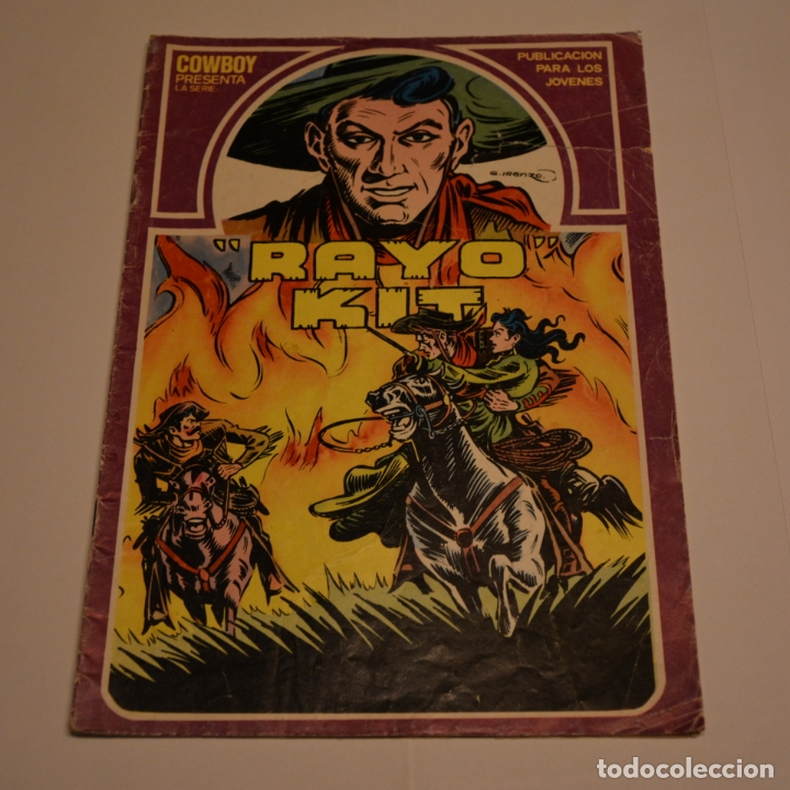 RAYO KIT Nº 5. LITERACOMIC. C2 (Tebeos y Comics - Ursus)
