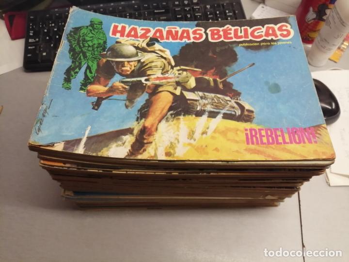 HAZAÑAS BÉLICAS / LOTE CON 56 NÚMEROS / URSUS 1973 (Tebeos y Comics - Ursus)