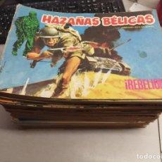 Cómics: HAZAÑAS BÉLICAS / LOTE CON 56 NÚMEROS / URSUS 1973. Lote 180483571