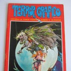 Cómics: TERROR GRAFICO (1972, URSUS) 3 · 1972 · TERROR GRAFICO. Lote 184274233