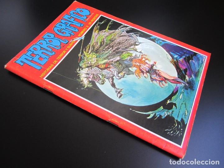 Cómics: TERROR GRAFICO (1972, URSUS) 3 · 1972 · TERROR GRAFICO - Foto 3 - 184274233