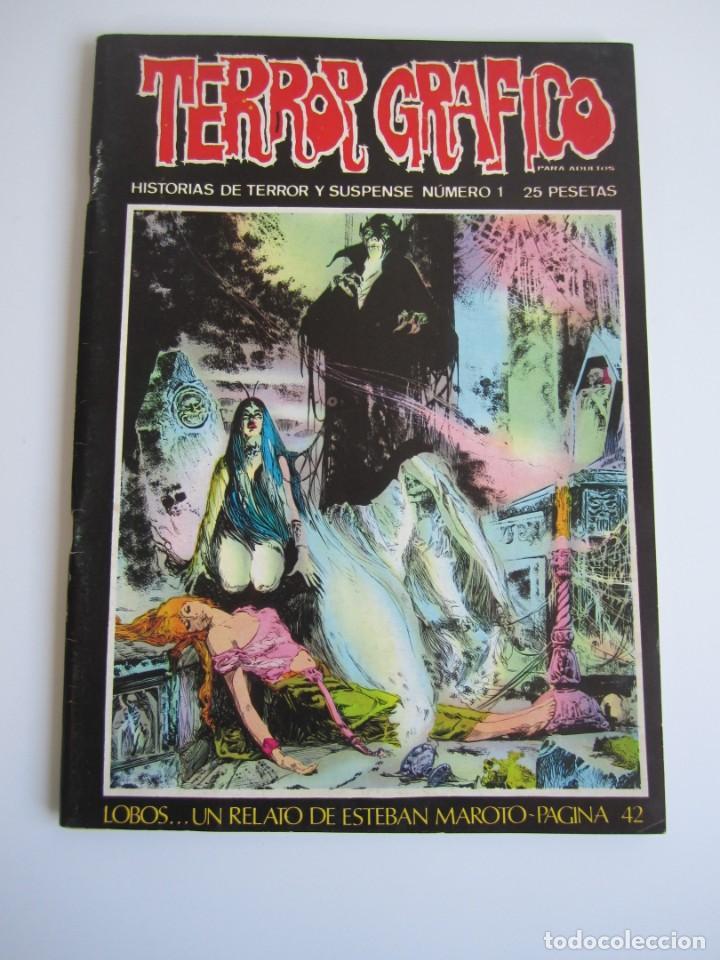 TERROR GRAFICO (1972, URSUS) 1 · 1973 · TERROR GRAFICO (Tebeos y Comics - Ursus)