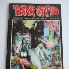 Cómics: TERROR GRAFICO (1972, URSUS) 1 · 1973 · TERROR GRAFICO. Lote 184274541