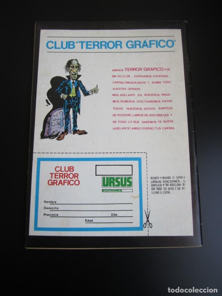 Cómics: TERROR GRAFICO (1972, URSUS) 1 · 1973 · TERROR GRAFICO - Foto 2 - 184274541