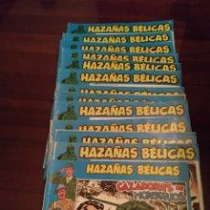 Cómics: 13 TEBEOS DE HAZAÑAS BÉLICAS AÑO 73 ILUSTRADOS POR BOIXCAR. Lote 185930675