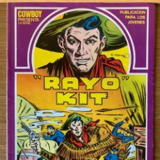 Comics : COWBOY PRESENTA: RAYO KIT Nº 1 - 1982 - JUAN G.IRANZO. Lote 187518171