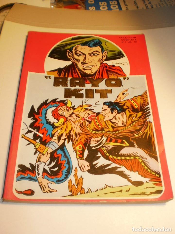 RAYO KIT DEL 1 AL 12 RETAPADOS COLECCIÓN COMPLETA 1982 (BUEN ESTADO) (Tebeos y Comics - Ursus)