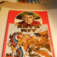 Cómics: RAYO KIT DEL 1 AL 12 RETAPADOS COLECCIÓN COMPLETA 1982 (BUEN ESTADO). Lote 188682392