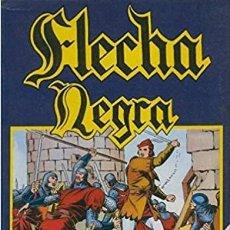 Cómics: LA HISTORIETA PRESENTA FLECHA NEGRA RETAPADO URSUS. Lote 189501386