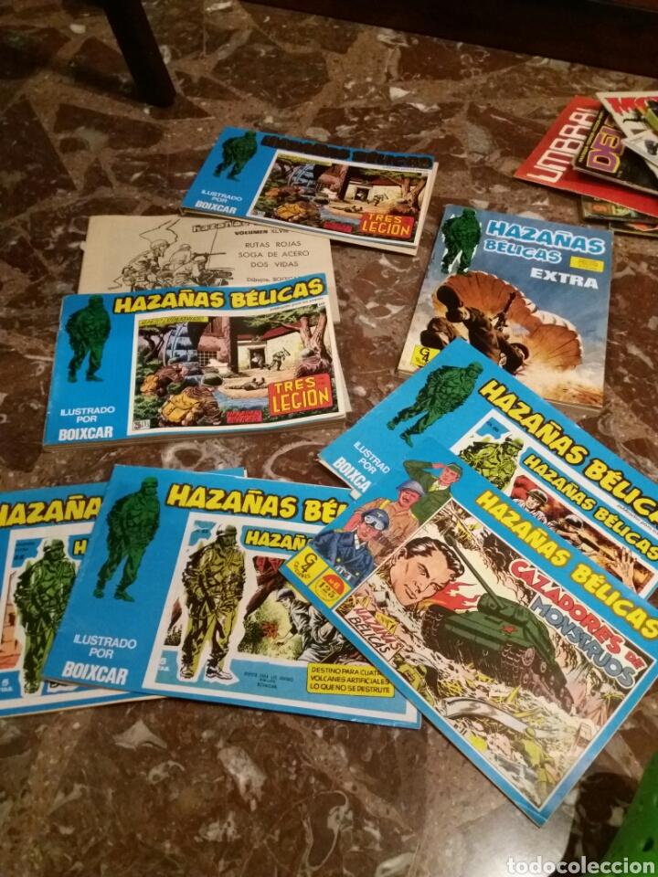 LOTE HAZAÑAS BELICAS (Tebeos y Comics - Ursus)