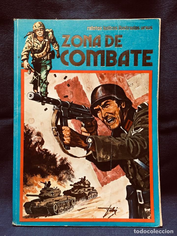 ZONA DE COMBATE RELATOS BÉLICOS ILUSTRADOS URSUS II G M S XX (Tebeos y Comics - Ursus)