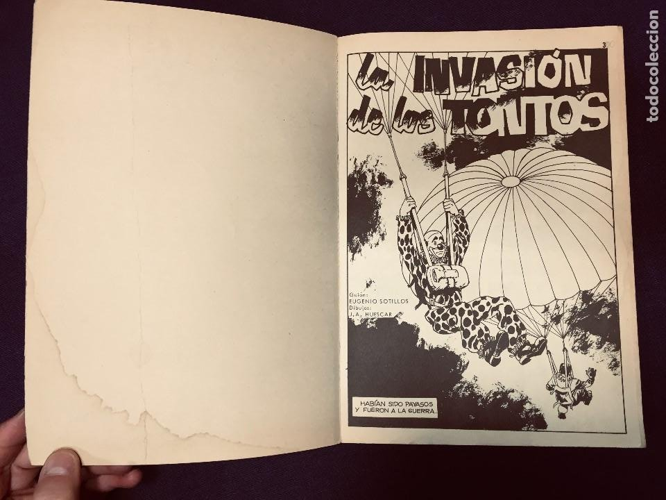 Cómics: zona de combate relatos bélicos ilustrados ursus II G M s xx - Foto 4 - 191557717
