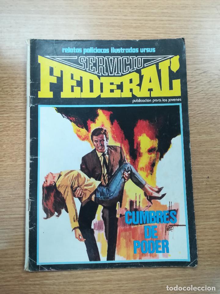 SERVICIO FEDERAL #3 (Tebeos y Comics - Ursus)