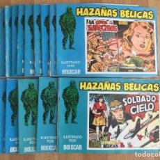 Cómics: LOTE 15 HAZAÑAS BELICAS - BOIXCAR - URSUS - GCH1. Lote 195082380