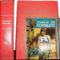Cómics: TOMO: 8 NÚMEROS HAZAÑAS BÉLICAS + 12 NÚMEROS ZONA COMBATE. Lote 197242287