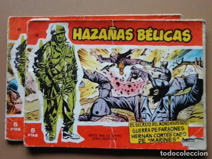 HAZAÑAS BÉLICAS 2 TEBEOS (Tebeos y Comics - Ursus)