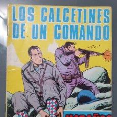 Cómics: HAZAÑAS BÉLICAS- GORILA 199 . LOS CALCETINES DE UN COMANDO. Lote 198075030