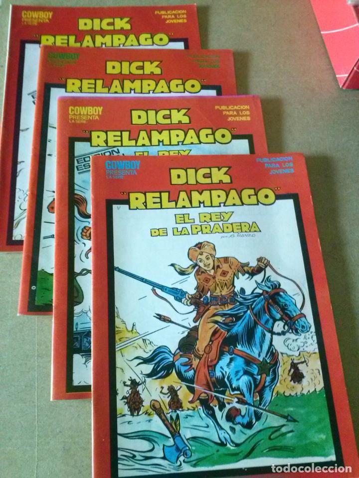 DICK RELAMPAGO COL. DE 4 NºS COMPLETA SUB COLECCION EDICION ESPECIAL- URSUS TORAY (Tebeos y Comics - Ursus)