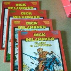 Cómics: DICK RELAMPAGO COL. DE 4 NºS COMPLETA SUB COLECCION EDICION ESPECIAL- URSUS TORAY. Lote 198307907
