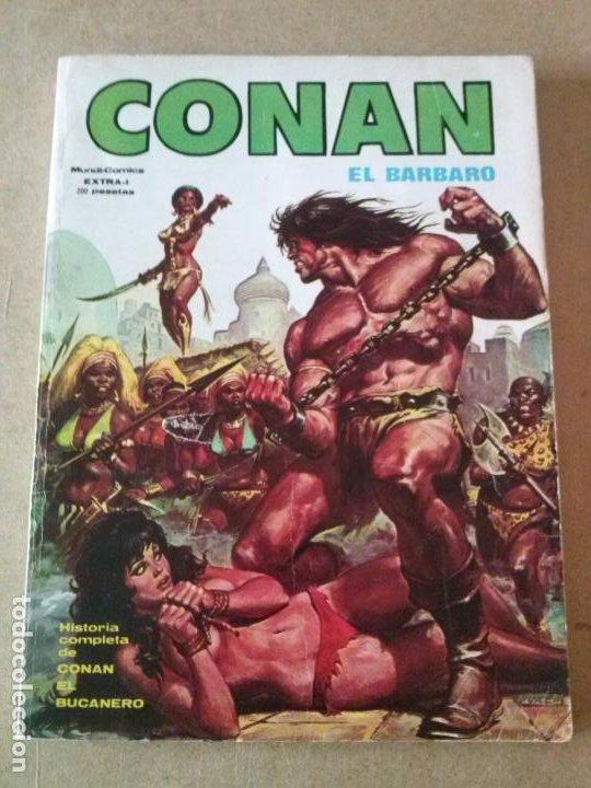 CONAN EL BARBARO COL. DE 1 Nº EXTRA - VERTICE EDICION ESPECIAL (Tebeos y Comics - Ursus)