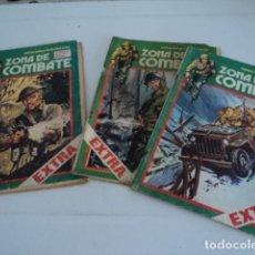 Cómics: MAGNIFICO LOTE 3 COMIC ZONA DE COMBATE RELATOS BELICOS EXTRA EDICIONES URSUS 32 - 8 - 31. Lote 198713667