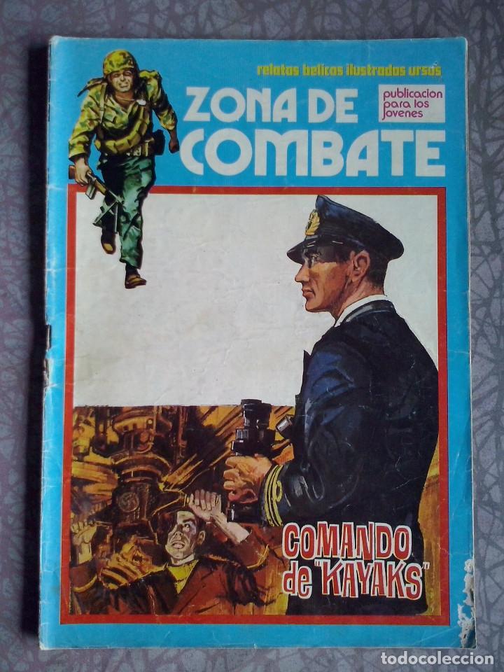 URSUS - ZONA DE COMBATE NUM. 35 ( 45 PTS.) (Tebeos y Comics - Ursus)