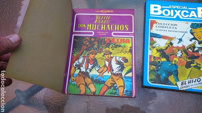 Cómics: ESPECIAL BOIXCAR EL HIJO DEL DIABLO DE LOS MARES Y LA VUELTA AL MUNDO DE DOS MUCHACHOS (y otras narr - Foto 6 - 200647683