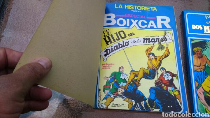 Cómics: ESPECIAL BOIXCAR EL HIJO DEL DIABLO DE LOS MARES Y LA VUELTA AL MUNDO DE DOS MUCHACHOS (y otras narr - Foto 11 - 200647683