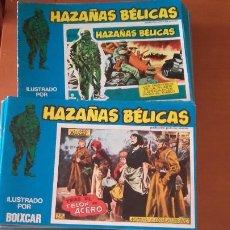 Cómics: HAZAÑAS BÉLICAS BOIXCAR EDITORIAL URSUS LOTE Nº 101 AL 187. Lote 201590197