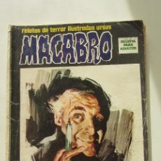 Cómics: MACABRO Nº1 URSUS EDICIONES. TERROR. ILUSTRACIÓN. NÚMERO RARO Y DIFÌCIL CX58. Lote 205526572