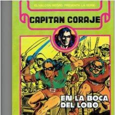 Cómics: * EL CAPITAN CORAJE * URSUS EDICIONES 1982 * TOMO Nº 1 RETAPADO IMPECABLE *. Lote 205530500